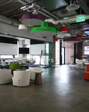 AOL Mapquest & i2 Construction - Denver Commercial Office Remodel Brand Forward Creative Space Technology